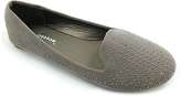 Gray All-Over Studded Loafer