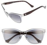 Balenciaga Women's Paris 54Mm Sunglasses - Palladium/ Gradient Smoke