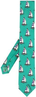 Dolce & Gabbana Boat Print Tie