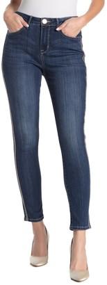 Seven7 Embellished Side Skinny Jeans