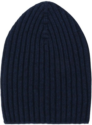 Barrie knitted beanie hat