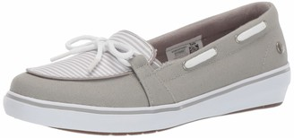 Grasshoppers Women's Windsor Bow Canvas/Stripe Sneakers
