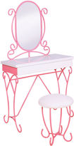 Asstd National Brand Charmed 2-Piece Youth Vanity Bathroom Cabinet Set