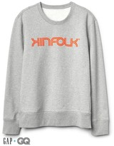 Gap + GQ Kinfolk logo crewneck tee