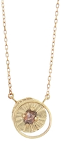 Lio & Linn Limited Edition Diamond Crescent Moon Necklace