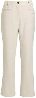 REJINA PYO Finley Canvas Cropped Trousers