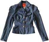 Vivienne Westwood Blue Wool Jackets