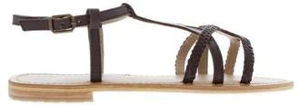 Firetrap Blackseal Iris Braid Sandals