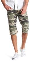 True Religion Cutoff Camo Shorts