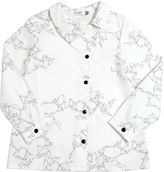 Motoreta Printed Cotton Poplin Shirt