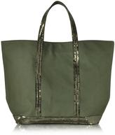 Vanessa Bruno Cabas Moyen Canvas Tote Bag