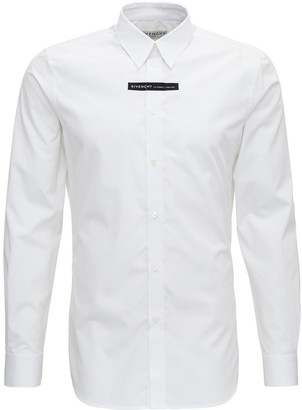Givenchy Shirt With Contrasting Logo Print