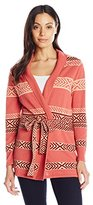 Pendleton Women's Sunset Stripe Cardigan Sweater