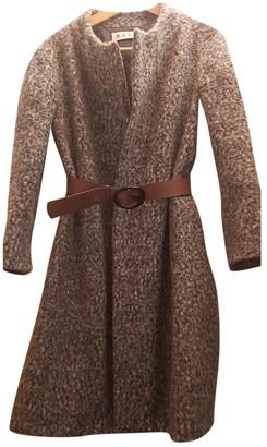 Marni Grey Wool Coats