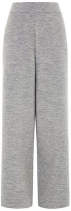 Sybilla Les 100 Ciels Wool Trousers In Smoke