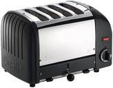 Dualit Classic Toaster - Black - 4 Slot
