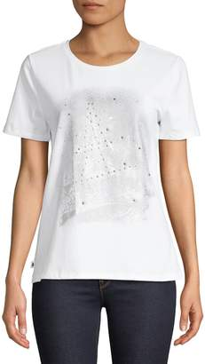 Karl Lagerfeld Paris Eiffel Tower T-Shirt