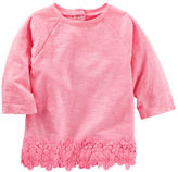 Osh Kosh Neon Lace Trim Top