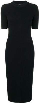 Fendi Knitted Bodycon Dress