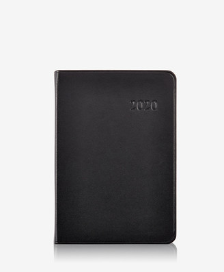 GiGi New York 2020 Daily Journal, Black Traditional Leather