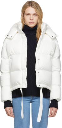 Moncler White Down Onia Jacket