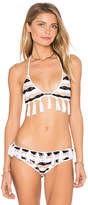 Tularosa Saddie Bikini Top in Black. - size L (also in M,S)