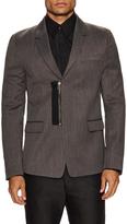 Diesel Black Gold Jirone Zip Front Sportcoat