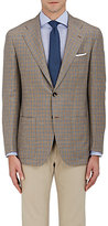 Kiton Men's Cashmere-Linen-Silk Two-Button Sportcoat
