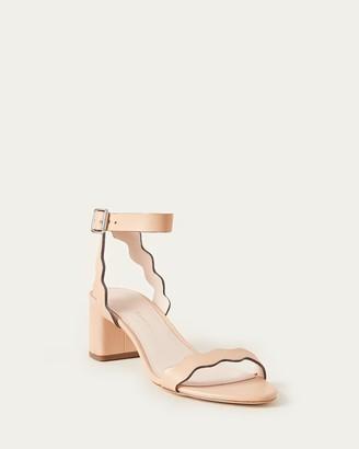 Loeffler Randall Emi Block Heel Sandal Wheat