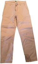 Carhartt Pink Cotton Trousers for Women