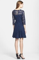 Thumbnail for your product : Eliza J Lace Fit & Flare Dress