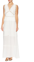 The Kooples Inset Lace Maxi Dress