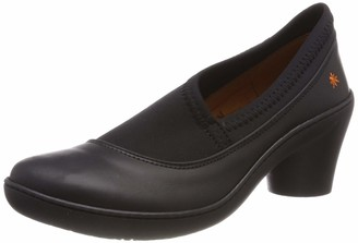 Art Women's Alfama Closed Toe Heels Black (Black/Black Black/Black) 8 UK