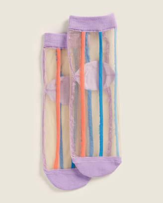 Richer Poorer Womens Tasha Sheer Ankle Socks