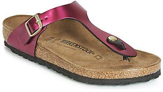 Birkenstock GIZEH women's Flip flops / Sandals (Shoes) in Pink