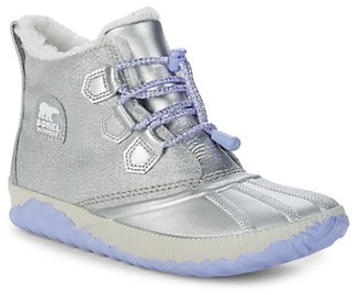 Sorel Kid's Faux Fur-Lined Sneakers