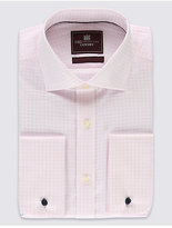 M&S Collection 2in Longer Pure Cotton Regular Fit Shirt