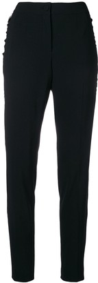 Talbot Runhof Stripe Detail Trousers