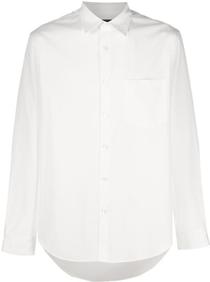 Theory Plain Long-Sleeved Shirt