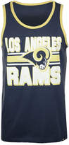 '47 Men's Los Angeles Rams Team Stripe Crosstown Tank
