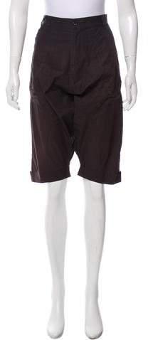Henrik Vibskov High-Rise Knee-Length Shorts