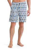 Hanro River Geometric-Print Woven Shorts