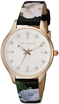 Ted Baker Women's 10025270 Classic Analog Display Japanese Quartz Pink Watch