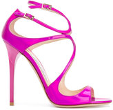 Jimmy Choo Lance sandals - women - Calf Leather/Leather - 36
