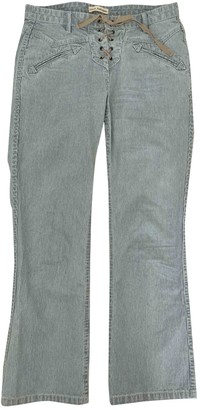 Ulla Johnson Blue Cotton Jeans