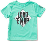 Under Armour Little Boys 2T-7 Load 'Em Up Short-Sleeve Graphic Tee