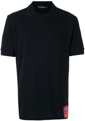 Dolce & Gabbana collared slim-fit T-shirt