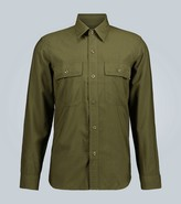 Ami Relaxed-fit canvas overshirt