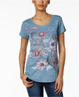 style co graphicprint tshirt only at macys
