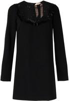 No.21 lace-panel dress